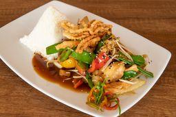 Pollo Oriental con Verduras