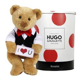 Hugo I Love You Letrero Y Corbata