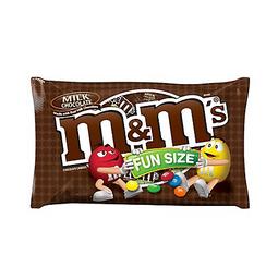 M&M Milk Chocolates Fun Size Bolsa X 10.53 Oz