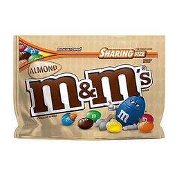M&M Almond Sharing Size X 9.3 Oz
