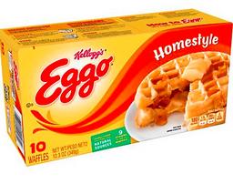 Waffles Homestyle Eggo X 349Gr