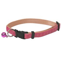 Collar Croci Para Gatos De Cuero Regenerado Rosado 1 U