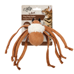 Peluche All For Paws Araña Ping Pong Gris 1 U