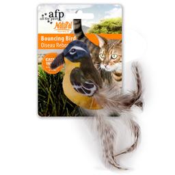 Pajaro All For Paws Amarillo Con Catnip 1 U