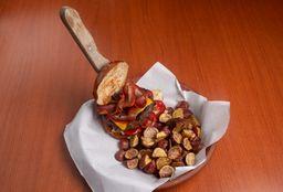 Hamburguesa Bacon and Cheese