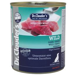 Dr. Clauder's gourmet para perro de Venado 800 gr
