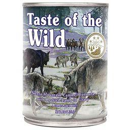 Taste of the wild Sierra mountain - Cordero 374 gr Lata