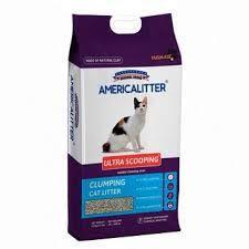 Arena para gatos American Litter ultra scooping 7 kg