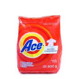 Detergente Ace Acción Instantánea 800 g