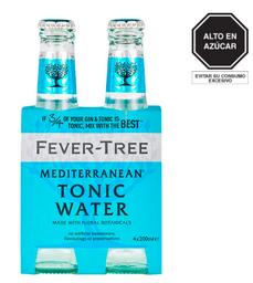 Fourpack Fever Tree Bot 20   Meditarrane
