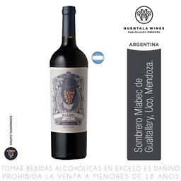Vino Sombrero 750Ml   Malbec
