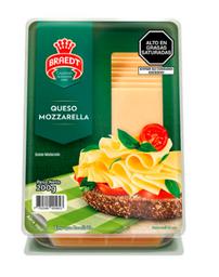 Queso Mozzarella Tajadas X 200Gr Braedt