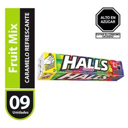 Halls 25.2 Gr, Fruit Mix