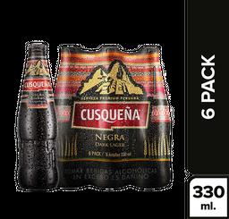 Cerveza Cusqueña Negra 310 mL x 6