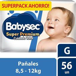 Babysec Pañales Para Bebé Super Premium Talla G