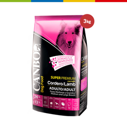 Canbo Super Premium Adulto Cordero Rz Med Y G 3 Kg (69985)