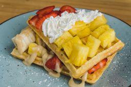 Waffle Keke Frutal