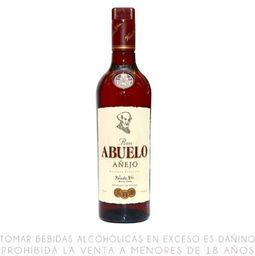Ron Anejo Abuelo botella 750 ml