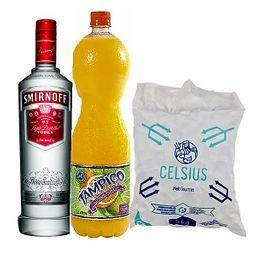 Combo Vodka Smirnof  3U