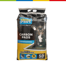 Pañales Claws&Paws X 50 Pads Carbon (60 X 60 Cm) (69953)