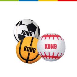 Kong Abs2 Sport Balls Medium (Pack 3 Unid) (63078)