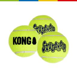 Kong Ast3 Small Squeak Tennis Balls (Pack 3 Unid) (61209)