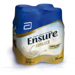 Suplemento Ensure Advance Vainilla 273 mL x 4