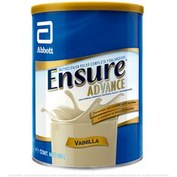 Suplemento Ensure Advance en Polvo Vainilla 805 g