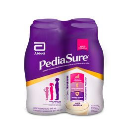 Pediasure Liquido Vainilla 237 Ml X 4 Un