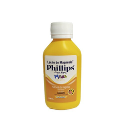 Leche De Magnesia Phillips Kids Durazno 120 mL