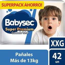 Babysec Pañal Super Premium CT XXG