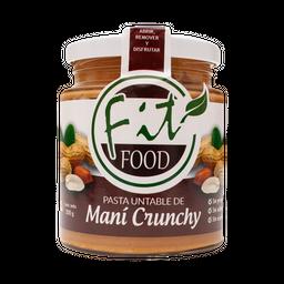 Mantequilla de Mani Crunchy Fit Food 200 g