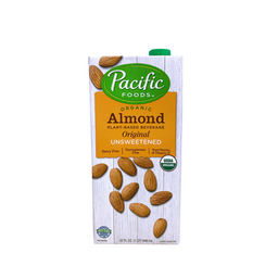Bebida Vegetal Almendra Original Sin Endulzar Pacific 946 mL