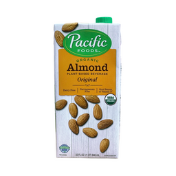 Bebida Vegetal Almendra Original Pacific 946 mL