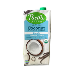 Bebida Vegetal de Coco Vainilla Sin Endulzar Pacific 946 mL