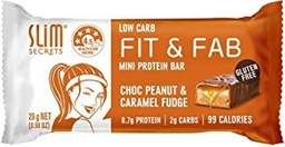 Fit & Fab Mini Protein Bar Choco Peanut Caramel Fudge