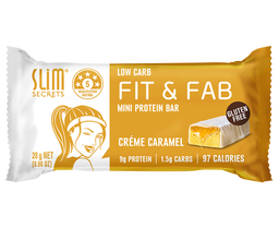 Fit & Fab Mini Protein Bar Creme Caramel