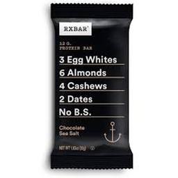 Rxbar Chocolate Sea Salt 52 g
