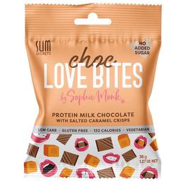 Calypso Love Bites Protein Milk Chocolate With Caramel