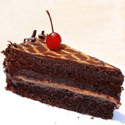Porción de Torta Chocolate Clásico