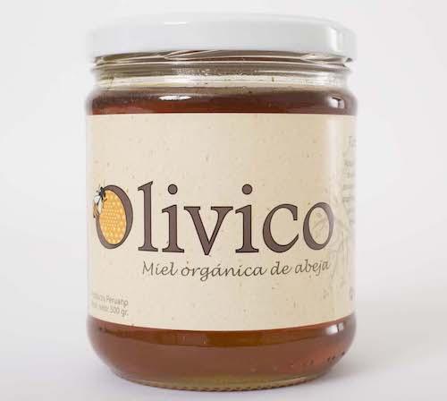Miel Orgánica Floración Olivo 500Gr