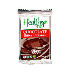 Healthy Me Barra de Chocolate Bitter 70%