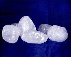 Piedra de Alumbre  Natural 120gr Aprox