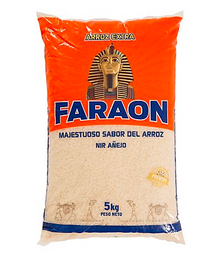 Faraon Arroz Extra Añejo Naranja Bolsa