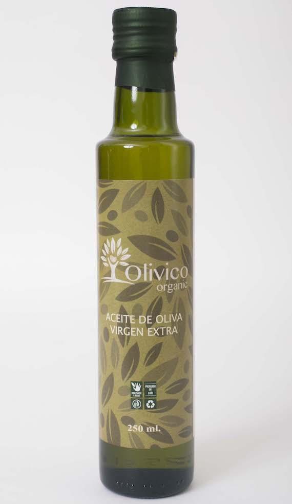 Aceite de Oliva Extra Virgen Organico 250ml