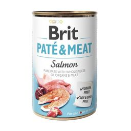 Brit Pate y Meat Salmon