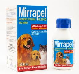 Mirrapel 236Ml.Vitaminas Y Omegas Y 6 Control De Caida De Pelo