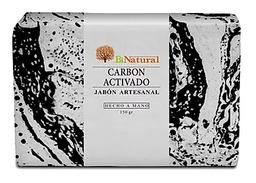 Jabon Artesanal Carbón Activado Bi Natural 150gr