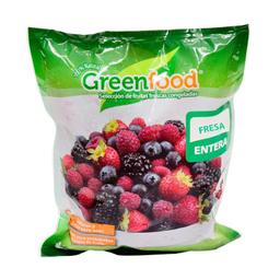 Green Food Fruta Greenfood Fresa Entera
