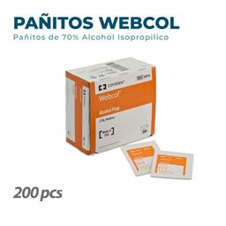 Pañitos Web Col Caja X 200 Unidades